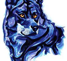 Blue Wolf by antoniopires