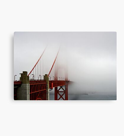 Summer in San Francisco Canvas Print