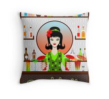 Cocktails Throw Pillow