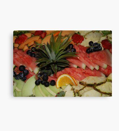 Salad Fresh Canvas Print