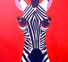 Zebra of Good Fortune by Katie Weychardt