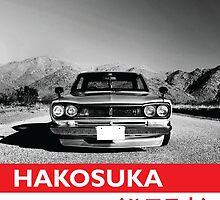 Hakosuka GTR  by zeroheroes