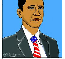 Obama for President by Terry  Burton