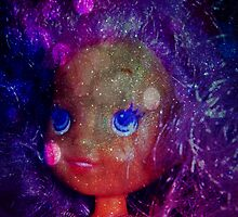 galaxy bubble belle pearl purple hair  by shesxmagic