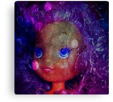 galaxy bubble belle pearl purple hair  Canvas Print