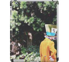 Alice In Wonderland's Mad Hatter  iPad Case/Skin