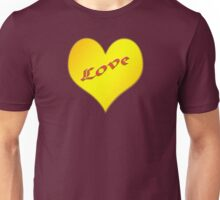 Yellow Heart Love T-Shirt