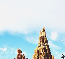 Disneyland's Big Thunder Mountain Railroad  by whitneymicaela