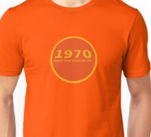 1970 Epoch time Unisex T-Shirt