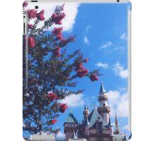 Disneyland Castle In The Summertime  iPad Case/Skin