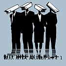 CCTV Goverment Print by Rossman72