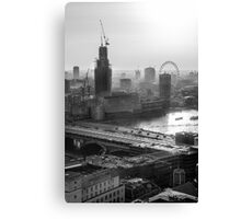 Capital LDN Canvas Print