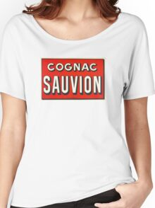 Cognac Sauvion - French advertising Women's Relaxed Fit T-Shirt