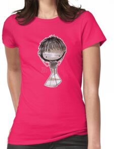...here are my ears!!! Womens Fitted T-Shirt
