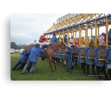 Cranbourne Races Canvas Print