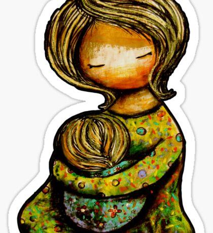 Madonna and Child TShirt Sticker