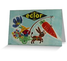 1950 graines-eclor by Alain Weine Greeting Card