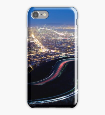 San Francisco Cityscape at Night iPhone Case/Skin
