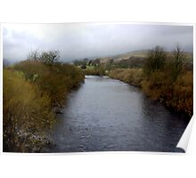 River Wharf - Yorkshire Dales Poster