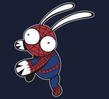 Spider Bunnie by ilikethings