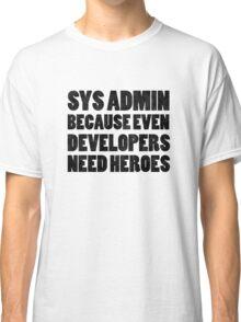 SysAdmin Classic T-Shirt