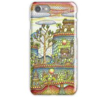 landscape with tiers iPhone Case/Skin