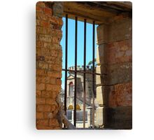 Inside Gaol Port Arthur Canvas Print