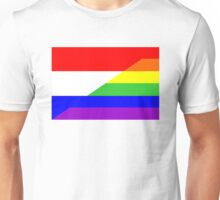 gay flag netherlands Unisex T-Shirt