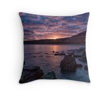 Maslin Beach Sunrise Throw Pillow