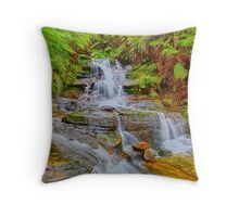 Upper Leura Cascades Throw Pillow