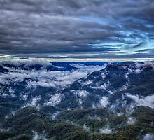 Magical Blue Mountains by renekisselbach