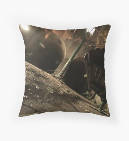 Light in the Well Throw Pillow