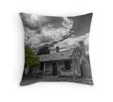 The historical town of Hartley in the Blue Mountains Throw Pillow