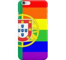 gay flag portugal iPhone Case/Skin