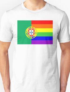 gay flag portugal Unisex T-Shirt