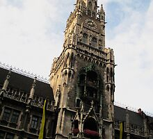 Clock Tower Munich by Germany