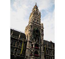 Clock Tower Munich Photographic Print