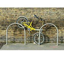 Biked  Photographic Print