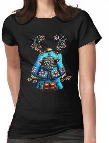 Asia Blue on Black TShirt by Karin Taylor T-Shirt