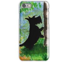 Scottie Dog 'Any Squirrels?' iPhone Case/Skin