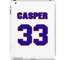 National baseball player Casper Wells jersey 33 iPad Case/Skin
