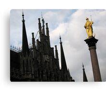 Munich Gothic Canvas Print