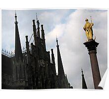 Munich Gothic Poster