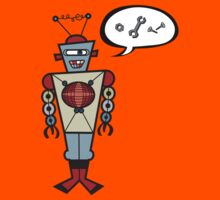 Robot Talking Nuts & Bolts Kids Clothes