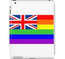 great britain gay flag iPad Case/Skin