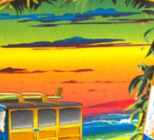 Corona Daze Sticker