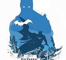 Batman Blue by rikovski