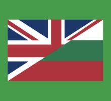 uk bulgaria flag Baby Tee