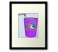 who's ready for mordeshakes? Framed Print