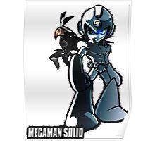 Trainer Megaman Poster